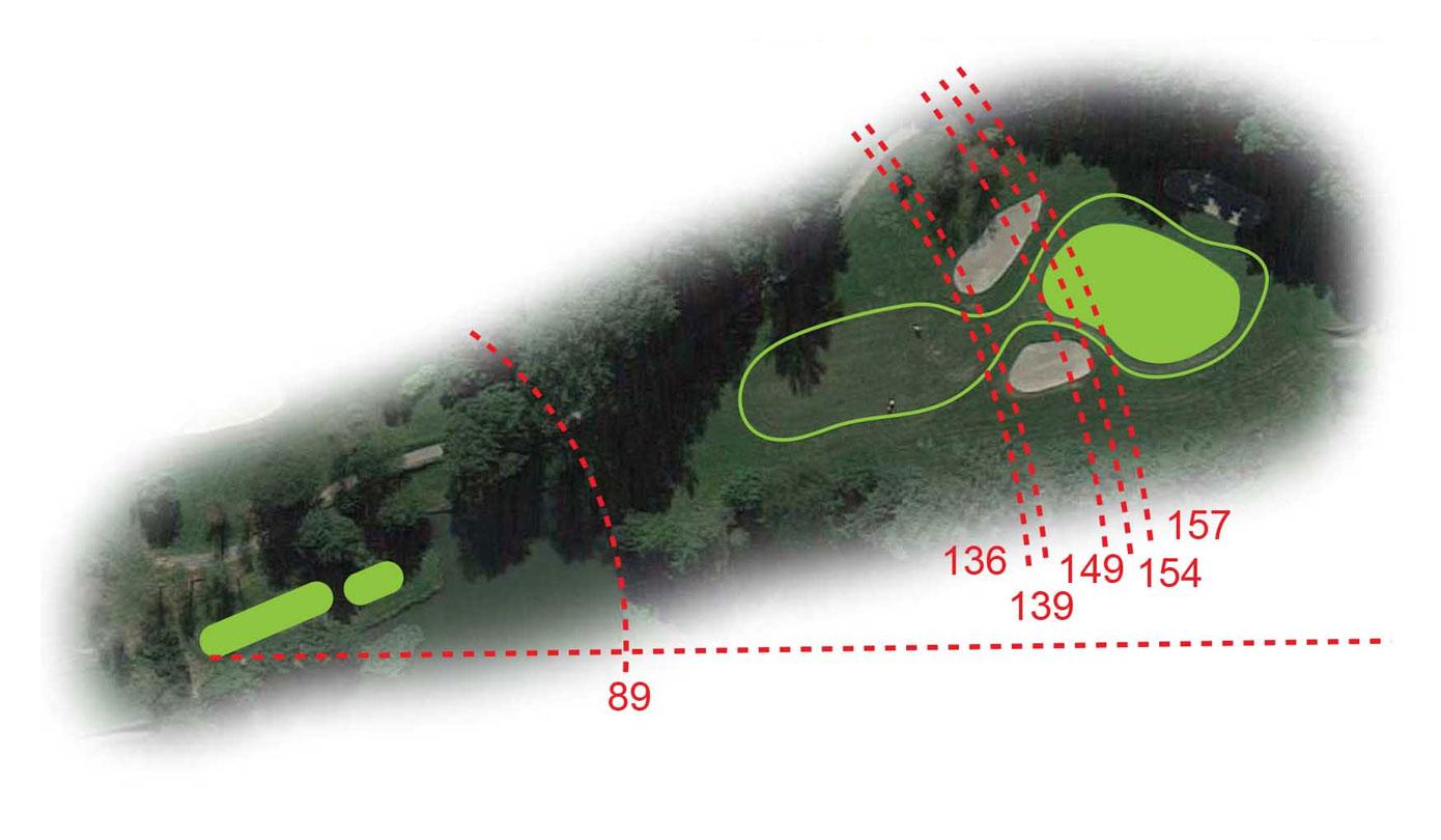 Buca 11 il Lago Golf Club le Fronde Avigliana