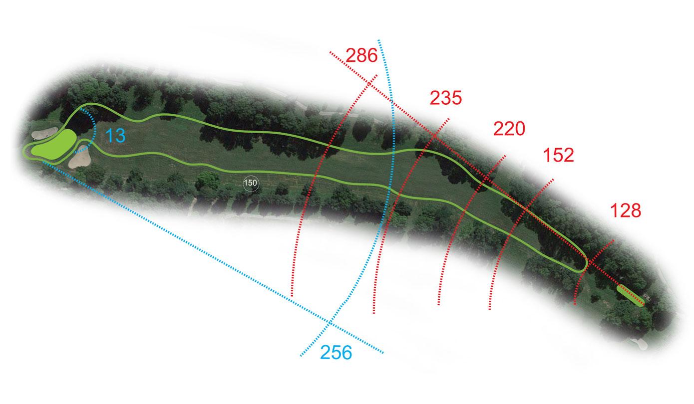 Buca 13 il Bunker Golf Club le Fronde Avigliana