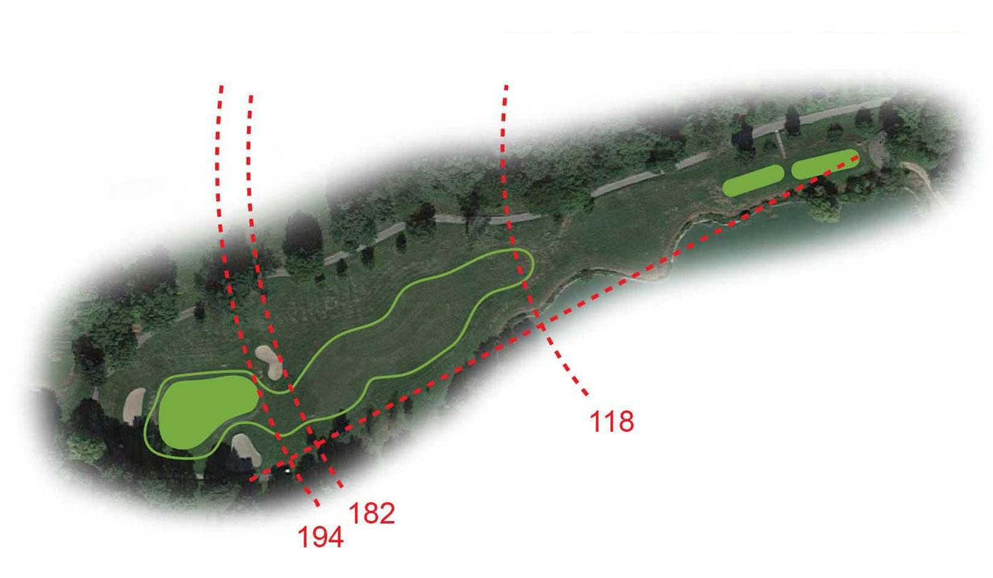 Buca 14 la Fontana Golf Club le Fronde Avigliana