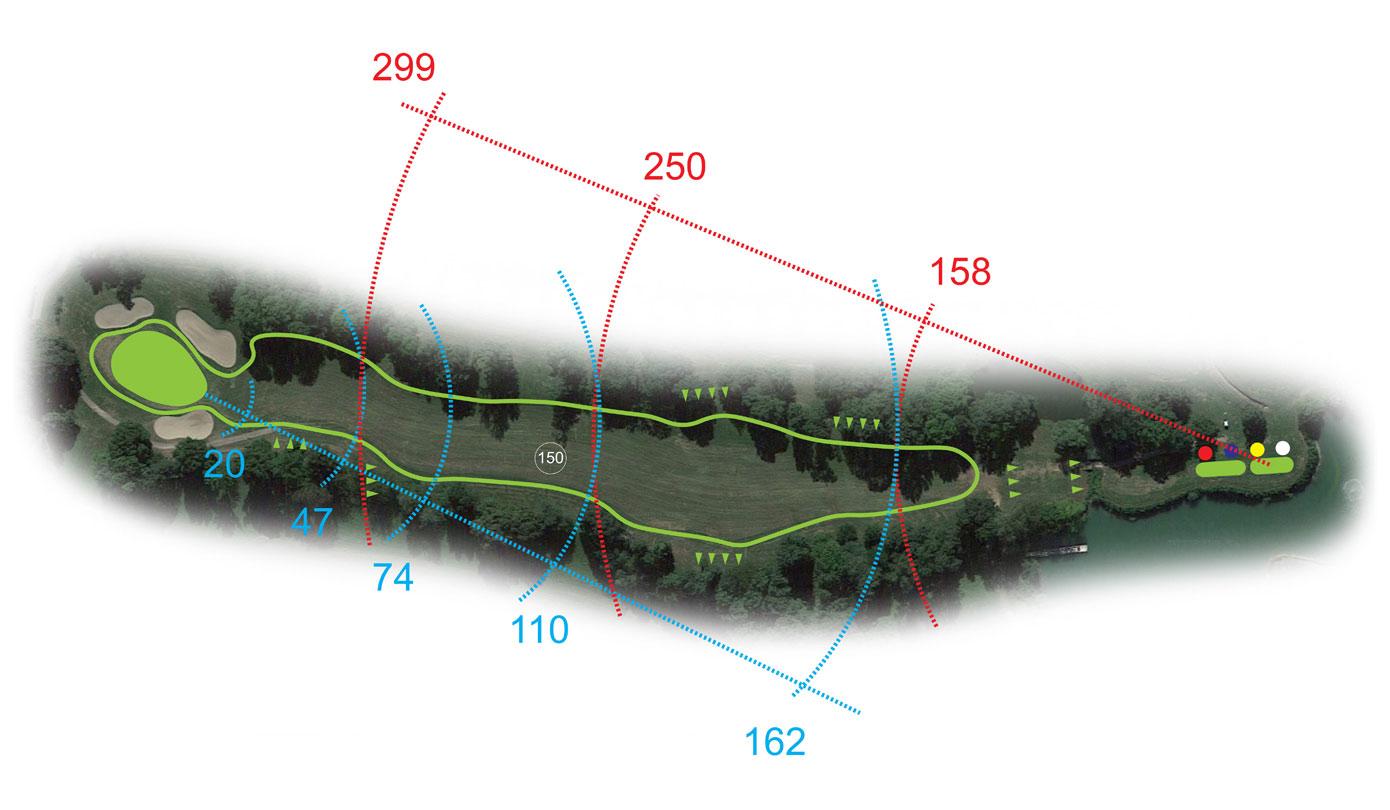 Buca 18 le Querce Golf Club le Fronde Avigliana