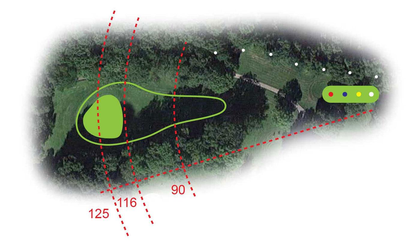 Buca 7 il Monte Cuneo Golf Club le Fronde Avigliana