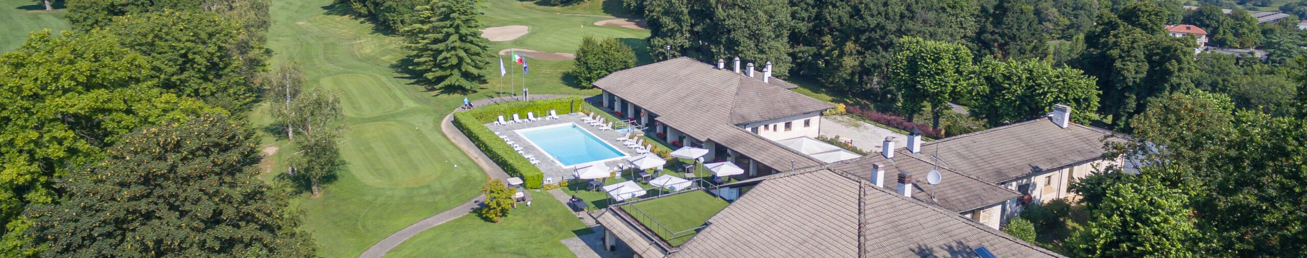 vue sur le golf le fronde Avigliana Turin