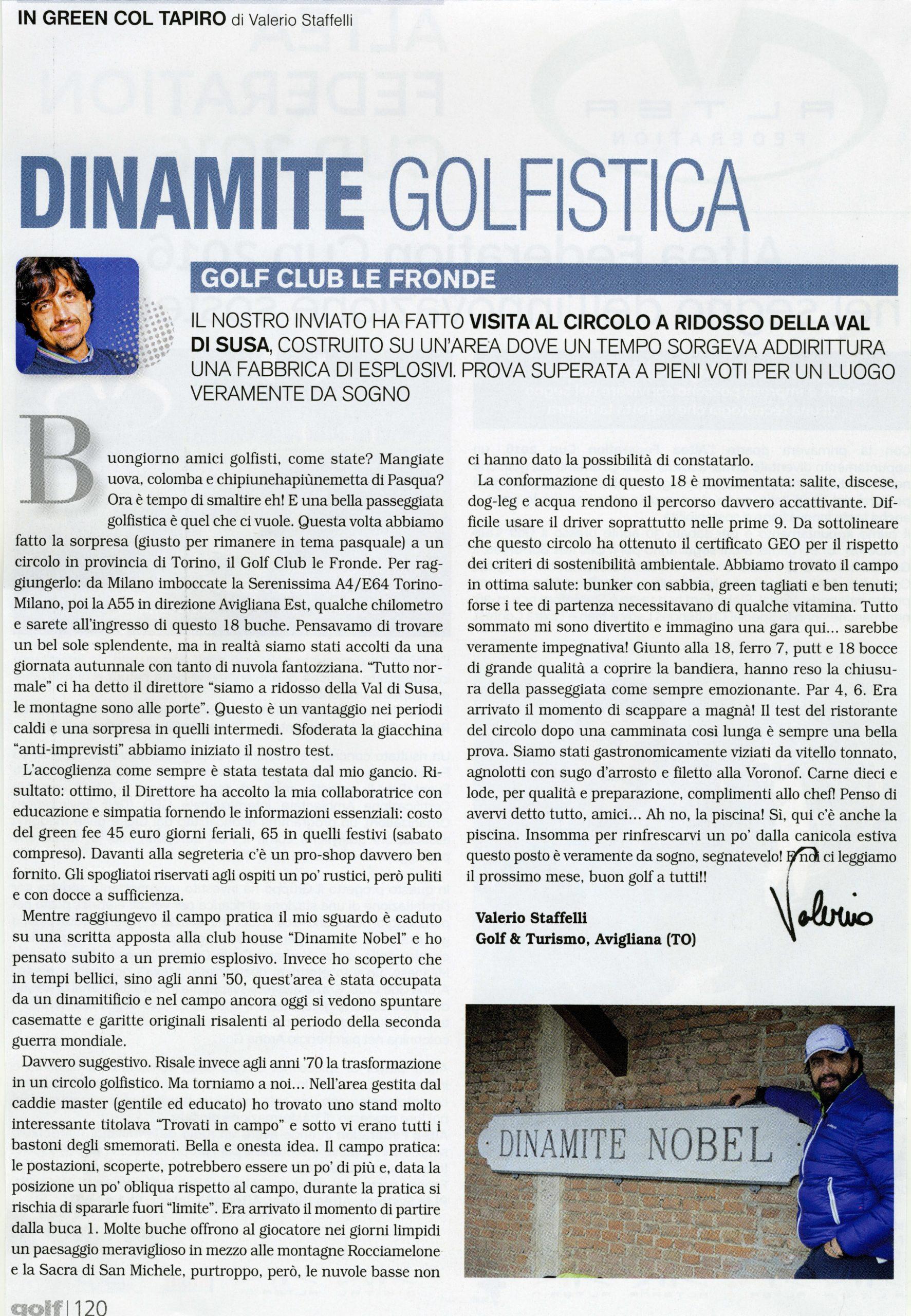 Dinamite golfistica 1